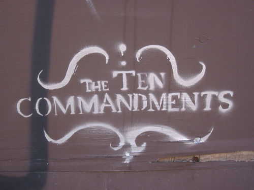 lauren b - 10 commandments