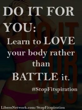 #StopFitspiration | Libero Magazine 18