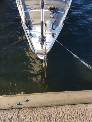 Placing the anchor roll - Liberta.fi
