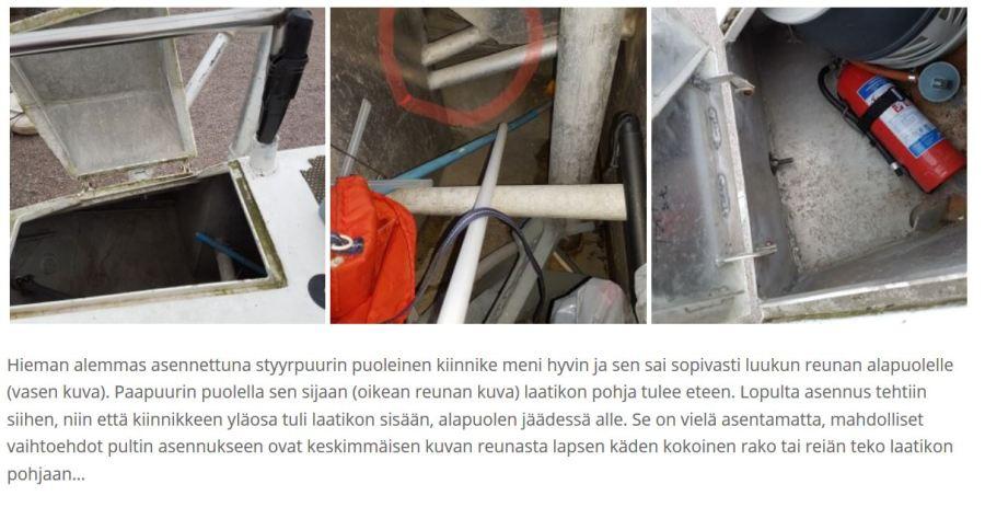 Klippi tuuliperäsimen asennuksesta - Liberta.fi