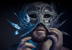 a romantic hero? handsome behind that mask?