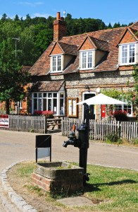 typical English village for amateur sleuth
