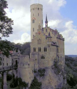 Lichtenstein castle, challenge for the romantic hero