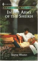 In the Arms of the Sheikh, by Sophie Weston, cover