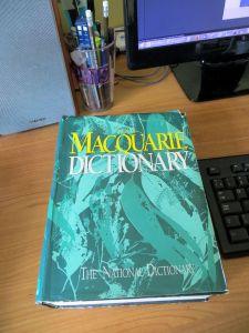 Australian dictionary - to speak oz