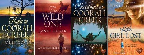 The award winning Coorah Creek series - so far