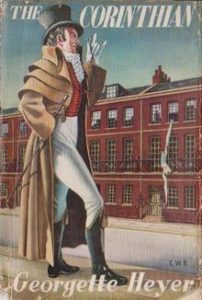 Cover of The Corinthian, one of Heyer Heroes