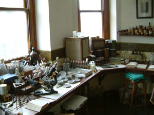 Alexander Fleming Laboratory Museum in St Mary's Hospital, Paddington