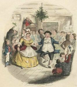 Victorian Christmas with Mr and Mrs Fezziwig