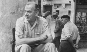 Graham Greene inveterately dedicating