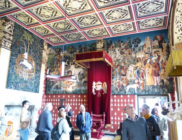 Stirling Royal Palace: Queen's Inner Chamber with tapestries