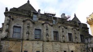 Stirling Caste: James V's Royal Palace of 1540sStirling Caste: James V's Royal Palace of 1540s from courtyard