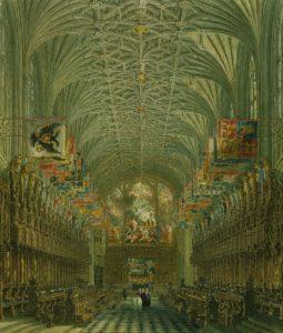 St George's Chapel, Windsor, 1867 Royal Wedding
