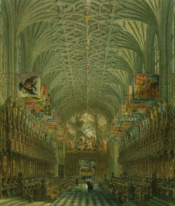 St George's Chapel, Windsor, 1867 Royal Wedding