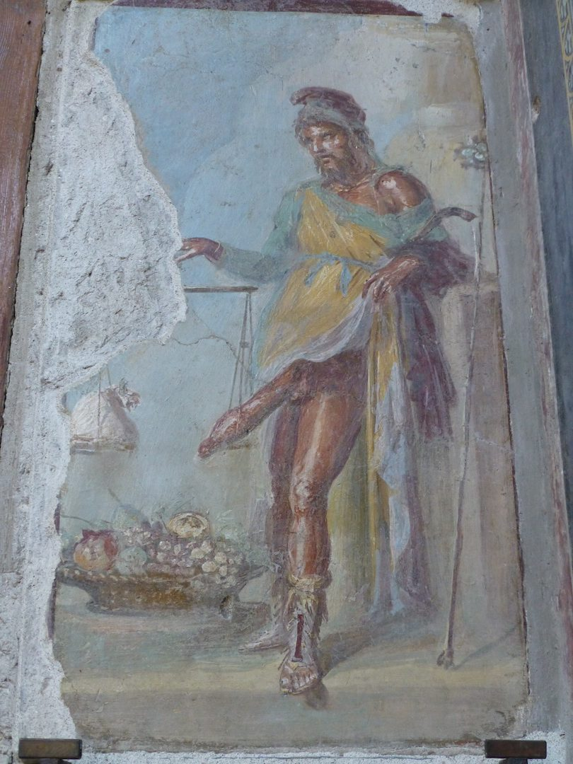 Turns out life in ancient pompeii wasn't all that different