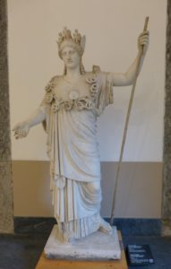 statue of Athena, Naples Museum