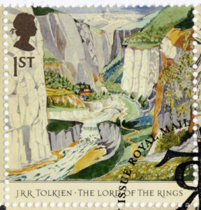 UK stamp of Lord of The Rings - Rivendell