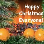 Fire Oranges Happy Christmas 2017