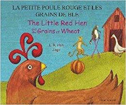 Day 3 cover Little Red Hen French and English