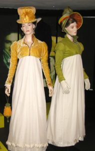 replica Regency gowns with spencers