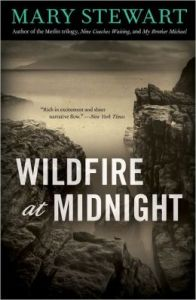 Cover of Wildfire at Midnight by Mary Stewart