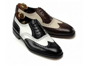 "black and white ""co-respondent"" shoes"
