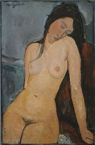Iris Tree by Modigliani