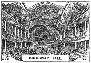 Mediums in Kingsway Hall