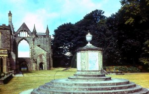 Lord Byron's tomb for his dog Botswain