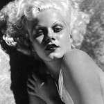Fictional Blondes Jean Harlow