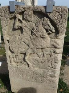 Xanthen cavalryman death monument, frontier town