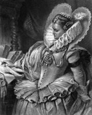 Altering History as Schiller did in his play Maria Stuart: Queen Elizabeth in 1859 production of Schiller's Maria Stuart
