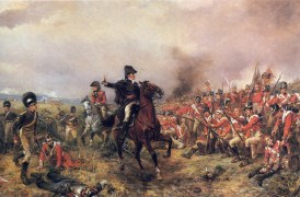 Wellington at the Battle of Waterloo by Hillingford