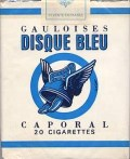 packet of Disque Bleu cigarettes