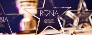 Libertà celebrates with RoNA stars from the Romantic Novelists' Association