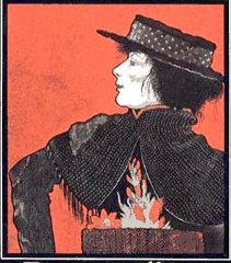 Pygmalion poster (1913) starring Mrs Patrick Campbell as Eliza Dolittle