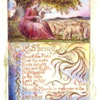 Spring print William Blake