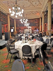 Setting of RNA 2019 awards in Gladstone Library, 1 Whitehall Place