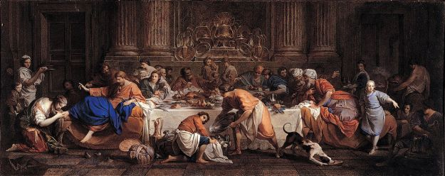 Maria Felice Tibaldi. Dinner at the House of the Pharisee