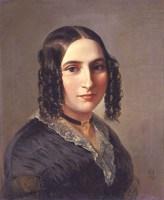 Fanny Hensel nee Mendelssohn 1842