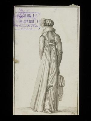 1810 pelisse print © Victoria & Albert Museum, London