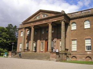 Berrington Hall front portico