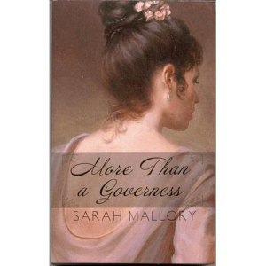 cover of More Than A Governess by Sarah Mallory