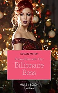 Stolen Kiss with her Billionaire Boss by Susan Meier cover