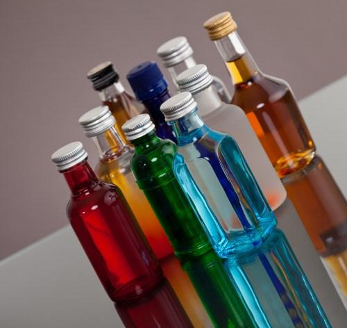minibar bottles