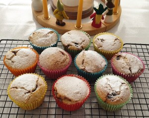 a wonderful bake! mince pie muffins ready to eat