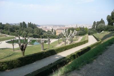 Florence panorama in Spring