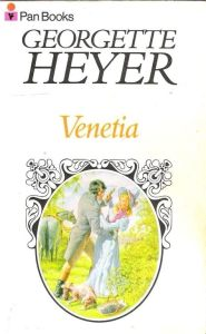 Venetia by Georgette Heyer cover