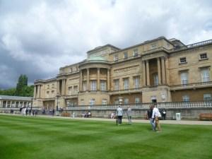 Buckingham Palace, garden front