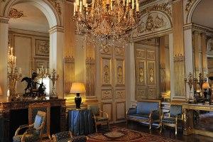 Blue Salon, British Ambassador's residence, Paris, formerly Hotel de Charost